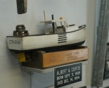 Albert Curtis Model Boat