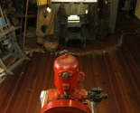 museum interior Fish House Room 3