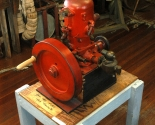 museum interior Old Make or Break Engine