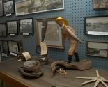 museum interior Gallery Room 1