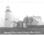 1917 Postcard Light w Pole 1